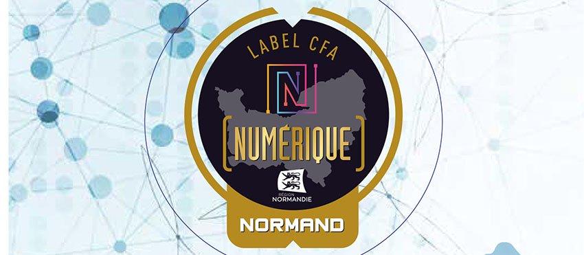 Label du CFA numérique normand
